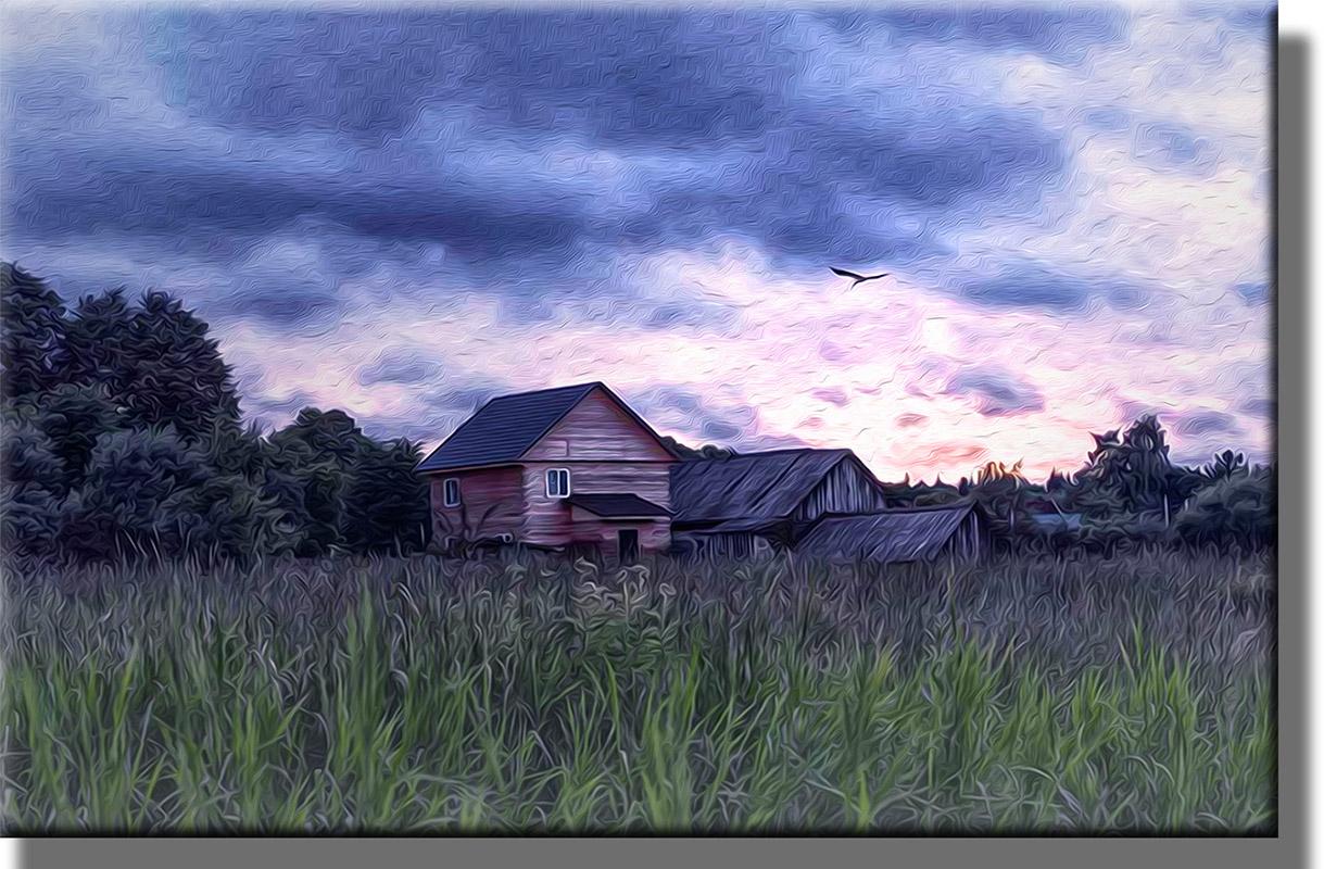 Энергия места и мои картины