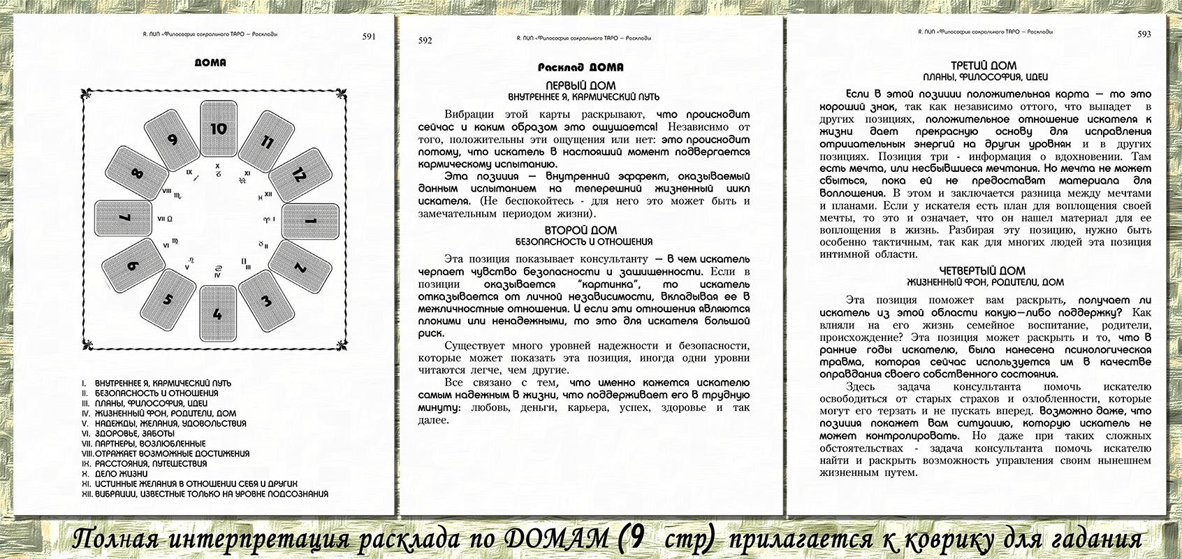 Symbolon tarot - комплект аксессуаров для гадания на картах тарот